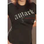 "Bergthron ""autark"" -Girlie Shirt"