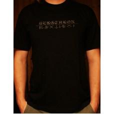 Bergthron - Runen Shirt schwarz
